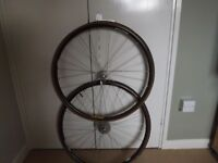 Light weight racing bike wheels