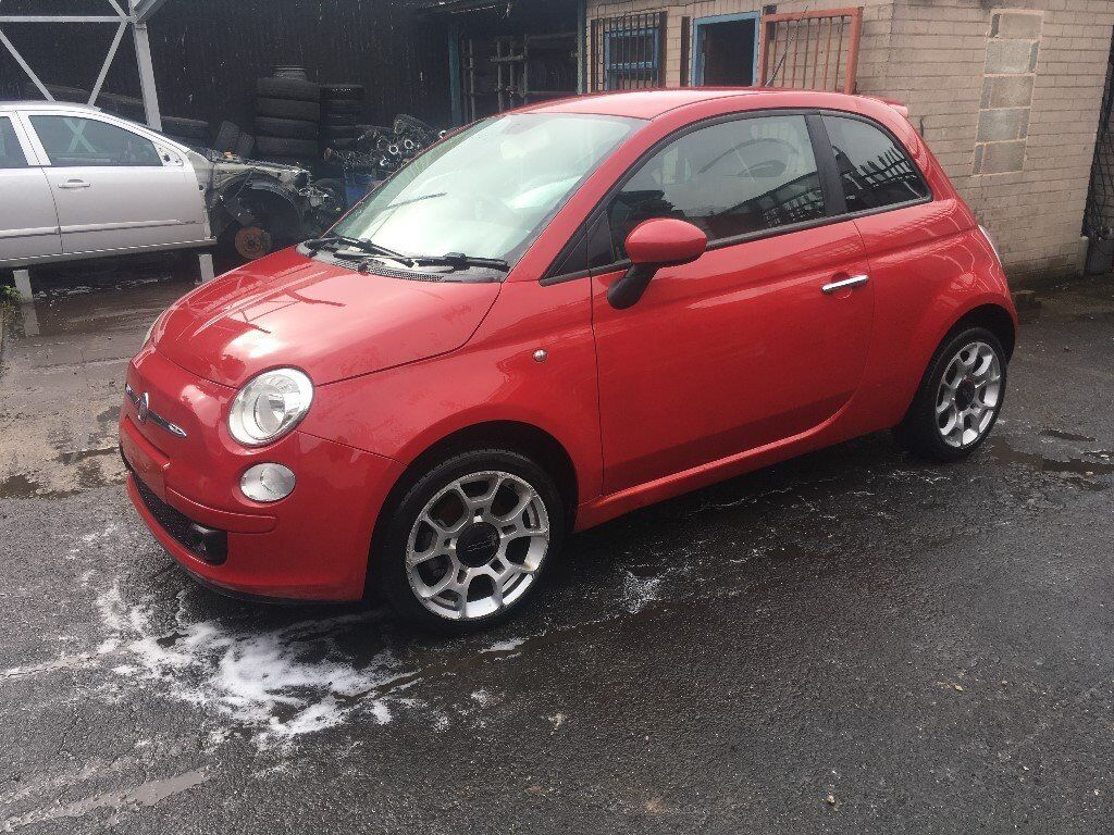 BREAKING - FIAT 500 - RED - ALL PARTS AVAILABLE