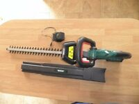 Qualcast 18v Battery Hedge Trimmer - with charger and battery.