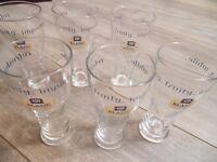 Kronenbourg 1664 Blanc half pint glasses x 6