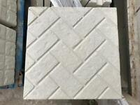 Brick effect / block Paving effect 450x450x35mm Paving slabs