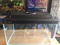30L Aquarium Fish Tank with Hood