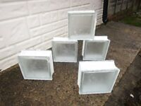 MISTY GLASS BUILDING BLOCKS,,, ( 34 ), good,