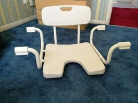 Mobility Sunken Bath Seat with Back