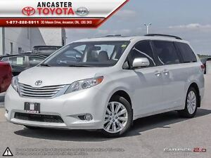 2014 Toyota Sienna LIMITED AWD ONLY 38079 KMS!!