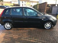 2007 Ford Fiesta GHIA TDCI 1.6 Diesel, 89,000 miles, (£30 tax) 10months MOT 8 stamps in Service His