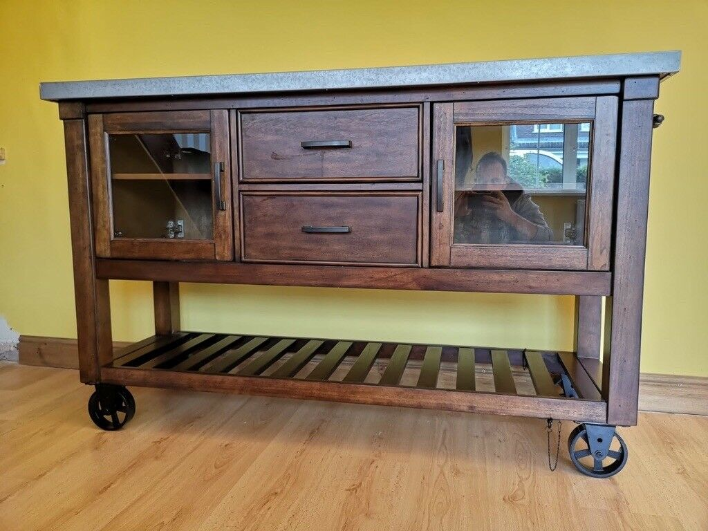 Wine Cabinet Wine Rack Kitchen Unit Costco Kitchen Island In Mold Flintshire Gumtree