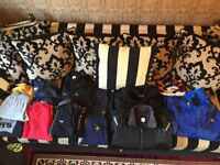 Bundle of designer clothes