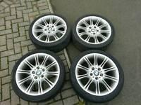 BMW MV2 alloy wheels genuine 3 series E36 E46 E90