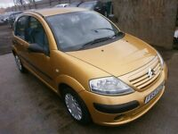 2003 CITROEN C3 1.4 DESIRE 5DOOR HATCHBACK, SERVICE HISTORY, HPI CLEAR, CLEAN CAR, DRIVES VERY NICE