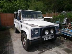 1997 Landrover Defender 110, County Station wagon 12 seat