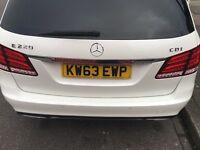 Mercedes E class Auto 2014 diesel excellent condition full service history