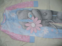 Me To You Tatty Teddy onesie/pyjamas for 6-7years. Like new condition! Cotton.