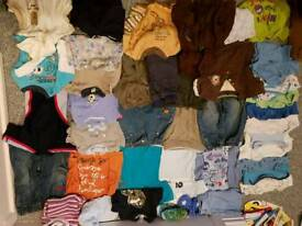 Huge 6-9 months clothes bundle
