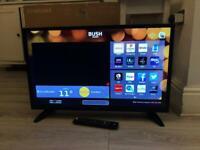Bush 32 inch Smart TV WiFi LED Full HD Netflix YouTube