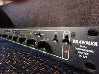 Drawmer DL 221 - Dual Compressor Limiter