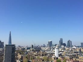 Stunning views, newly refurbished, 2min from Bermondsey tube, relaxed gay share