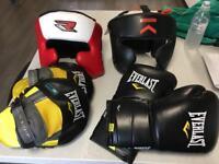 Job lot boxing equipment
