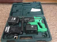 Hitachi cordless 24v sds drill