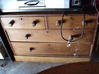 Brown Solid wood Drawers