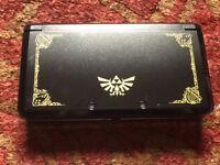 Nintendo 3DS (Limited Edition Legend of Zelda Model) + Game