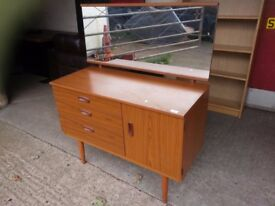 3 drawer Dressing Table with Mirror Delivery Available