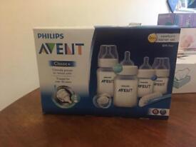 Avent Baby bottle set
