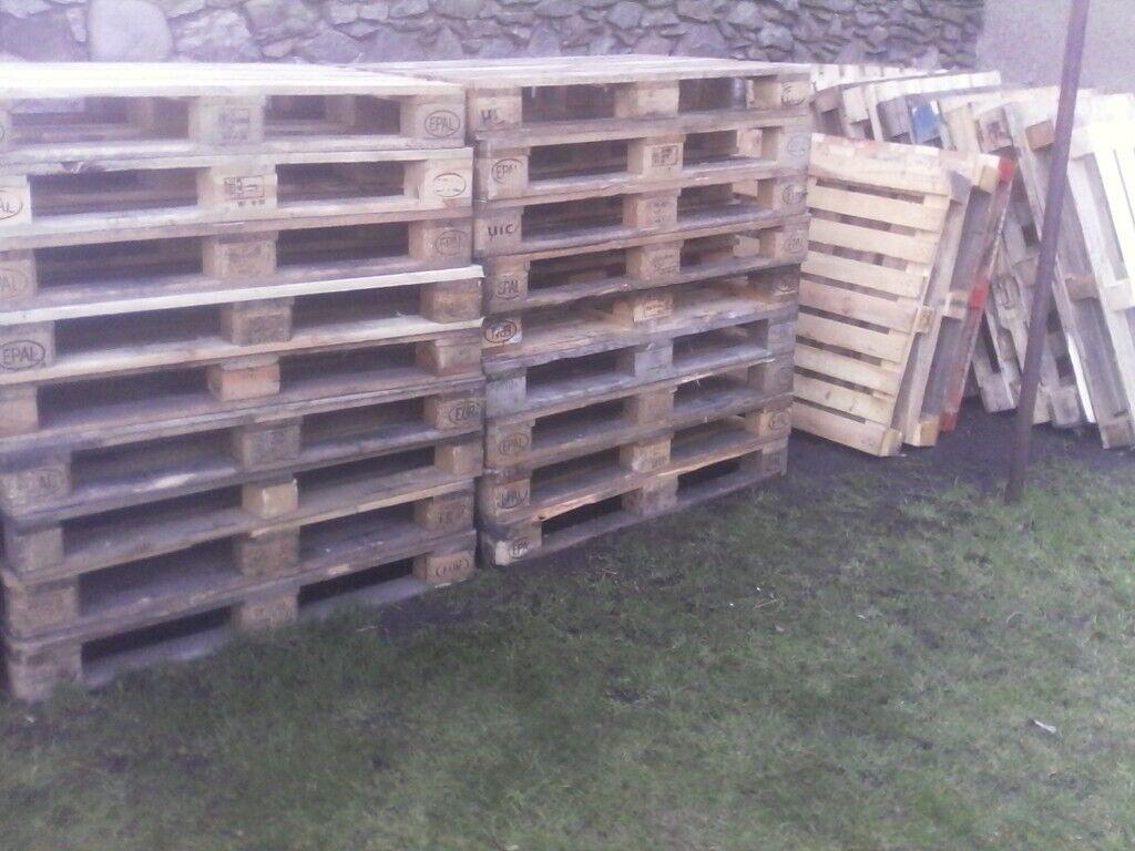 Wooden Pallets x45   in Aberdeen   Gumtree