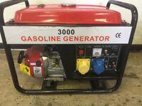Petrol Generator 110v - 240v Brand New