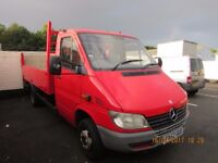 Mercedes sprinter recovery truck 413 cdi VERY RARE PERFECT FOR RECOVERY TRUCK 4.6 T