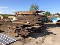 Tons of Reclaimed pitch pine floor joists