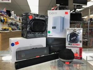 ** TURN IT UP ** Great Selection of New and Lightly Used Portable Speakers