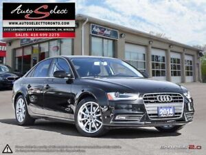 2014 Audi A4 Quattro AWD ONLY 100K! **NAVIGATION PKG** CLEAN...