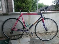 Vintage Retro Road Bike Hybrid