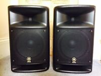 Yamaha Stagepas 500 PA system + Yamaha case - excellent condition/used only 3 times.