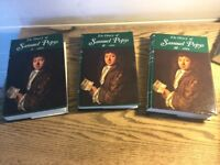 Complete set of Samuel Pepys Diaries and index.