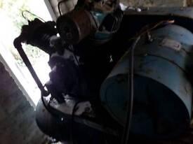 Industrial workshop compressor