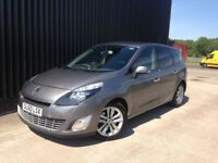 2010 Renault Grand Scenic 2.0 TD Privilege TomTom 5dr 2 Keys, 2 Previous Owers, Automatic, May PX