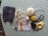 Medela electric breast pump, used but in excellent condition. Clean and sterilised.