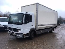 MERCEDES ATEGO 815 BOX TRUCK, MOT VERY GOOD CONDITION, RUNS AND DRIVES 100%