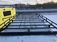 2007 Mk7 Ford Transit Rhino Roof Rack and Ladders
