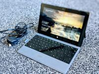 Microsoft Surface Pro 2 - 128gb, black, touch cover backlit keyboard, pen, fantastic condition