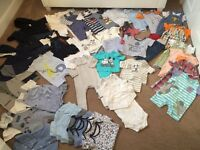 Baby clothes bundle 6-9 moths 40 plus items