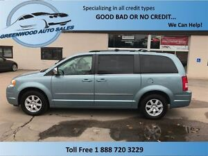 2010 Chrysler Town & Country SWIVEL AND GO SEATING WITH TABLE,HE