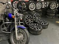 "19"" inch Vw Santiago's alloys wheels 5x112 golf gtd caddy scirocco Passat cc"