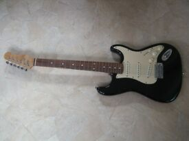Stagg strat type electric guitar unmarked condition
