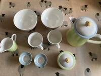 Reduced! Villeroy and boch fine China breakfast set.