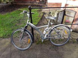 Ladies bi-twin bicycle for sale