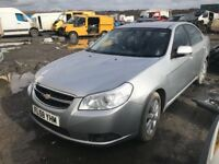 Chevrolet Epica diesel breaking 2009 year Spare Parts Available