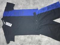 Men's EA7 short and top set
